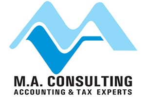 M A Consulting logo