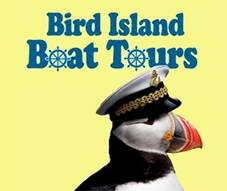 Bird Island Boat Tours - Mountain Vista Sea Side Cottages & Campground logo