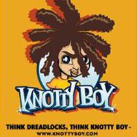 Knotty Boy Dread Stuff logo