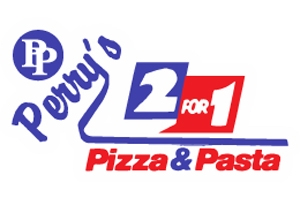 Perry's 2 For 1 Pizza & Pasta logo